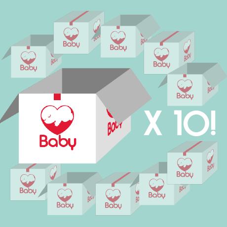 Babystartpakket X 10